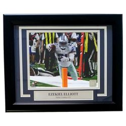 Ezekiel Elliott Dallas Cowboys 11x14 Custom Framed Photo Display