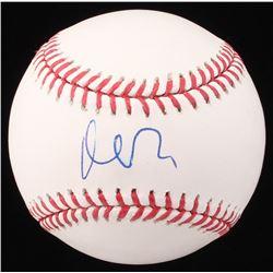 Matt Damon Signed OML Baseball (Beckett COA)