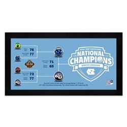 "North Carolina Tar Heels ""Final Four"" 7"" x 13"" Custom Framed Photo Display"