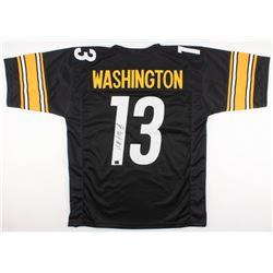 James Washington Signed Pittsburgh Steelers Jersey (Washington Hologram)