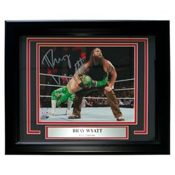 Bray Wyatt Signed WWE 13x16 Custom Framed Photo Display (SI COA)