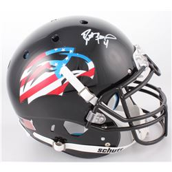 "Brett Favre Signed Southern Miss Golden Eagles ""American Flag"" Full-Size Authentic On-Field Helmet ("