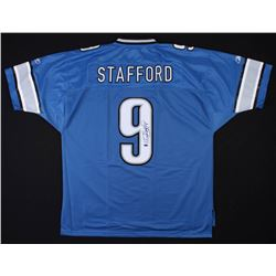 Matthew Stafford Signed Detroit Lions Jersey (Stafford Hologram)