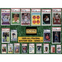 Icon Authentic 100% ALL PSA/DNA Mystery Box Series 7