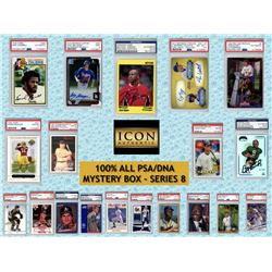 Icon Authentic 100% ALL PSA/DNA Mystery Box Series 8