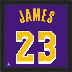 LeBron James Los Angeles Lakers 20x20 Custom Framed Photo Display