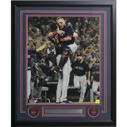 Chris Sale  Christian Vazquez Boston Red Sox 22x27 Custom Framed Photo Display