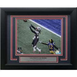 Stephon Gilmore New England Patriots Super Bowl 53 11x14 Custom Framed Photo Display