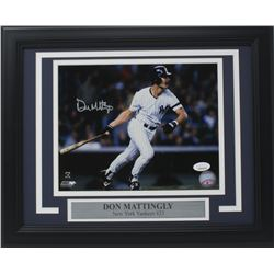 Don Mattingly Signed New York Yankees 11x14 Custom Framed Photo (JSA COA)