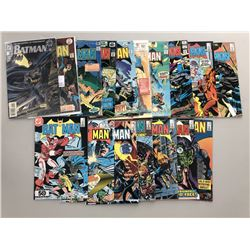 Lot of (17) 1976-86 DC Batman Comic Books