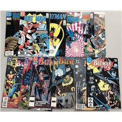 Lot of (25) 1985-97 DC Batman Comic Books