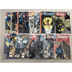 Lot of (32) 1989-94 DC Batman Comic Books