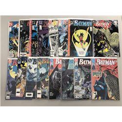 Lot of (32) 1989-94 DC Batman Comic Books