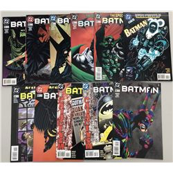 Lot of (32) 1995-2000 DC Batman Comic Books