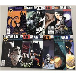 Lot of (23) 2000-2010 DC Batman Comic Books