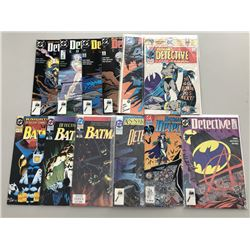 Lot of (25) 1976-2008 Detective Comics Batman Comic Books