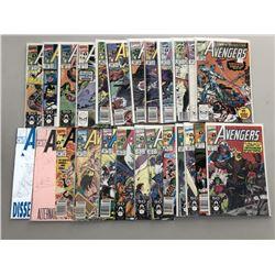 Lot of (49) 1990-1996 Marvel Avengers Comic Books