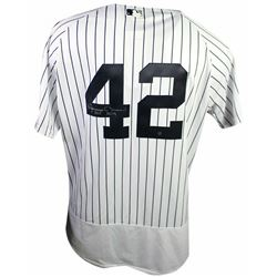 """Mariano Rivera Signed New York Yankees Jersey With Hall of Fame Patch Inscribed """"HOF 2019"""" (Steiner"""