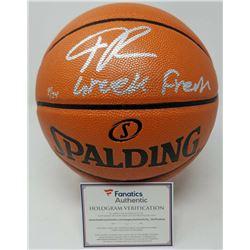 "Giannis Antetokounmpo Signed LE Official NBA Game Ball Series Basketball Inscribed ""Greek Freak"" (Fa"