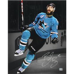 Brent Burns Signed San Jose Sharks 16x20 Photo (Burns Hologram)