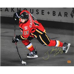 Johnny Gaudreau Signed Calgary Flames 16x20 Photo (Gaudreau Hologram)