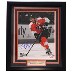 Claude Giroux Signed Philadelphia Flyers 16x20 Custom Framed Photo Display (JSA COA)