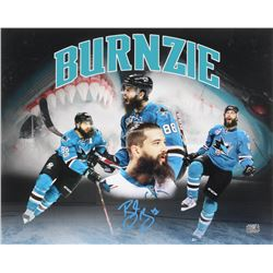 Brent Burns Signed San Jose Sharks 16x20 Photo (Burns Hologram)