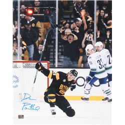 David Pastrnak Signed Boston Bruins 16x20 Photo (Pastrnak Hologram)