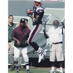 Randy Moss Signed New England Patriots 11x14 Photo (PSA COA)