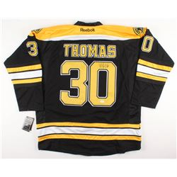 Tim Thomas Signed Boston Bruins Jersey (JSA COA)