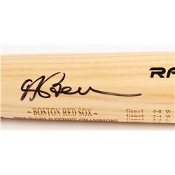Andrew Benintendi Signed Rawlings World Series Engraved Baseball Bat (Fanatics Hologram  MLB Hologra