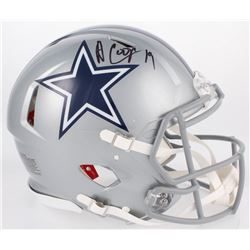Amari Cooper Signed Dallas Cowboys Full-Size Authentic On-Field Speed Helmet (JSA COA)