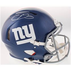 Odell Beckham Jr. Signed New York Giants Full-Size Authentic On-Field Speed Helmet (JSA COA)