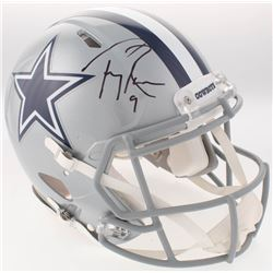 Tony Romo Signed Dallas Cowboys Full-Size Authentic On-Field Speed Helmet (Beckett COA)