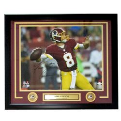 Kirk Cousins Signed Washington Redskins 22x27 Custom Framed Photo Display (JSA COA)