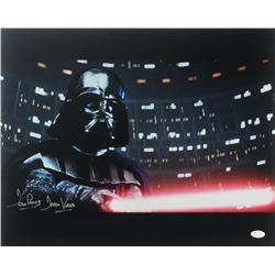 "David Prowse Signed ""Star Wars"" 16x20 Photo Inscribed ""Darth Vader"" (JSA COA)"