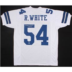 "Randy White Signed Dallas Cowboys Jersey Inscribed ""HOF 94"" (Beckett COA)"