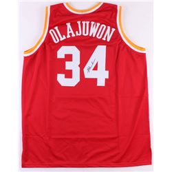 Hakeem Olajuwon Signed Houston Rockets Jersey (JSA COA)