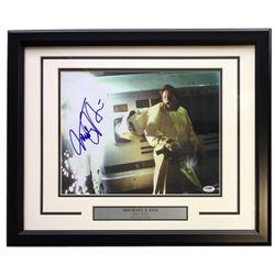 "Michael J. Fox Signed ""Back to the Future"" 16x20 Custom Framed Photo Display (PSA COA)"