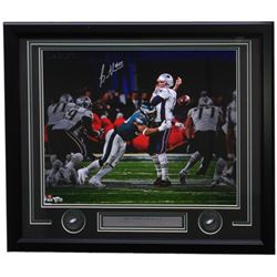 Brandon Graham Signed Philadelphia Eagles Super Bowl 52 22x27 Custom Framed Photo Display (Fanatics