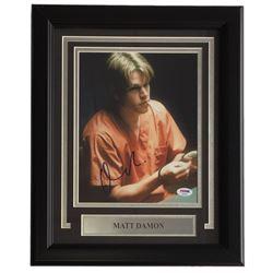 "Matt Damon Signed ""Good Will Hunting"" 11x14 Custom Framed Photo Display (PSA COA)"