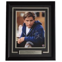 "Emilio Estevez Signed ""The Breakfast Club"" 16x20 Custom Framed Poster Display (SI COA)"
