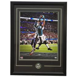 Alshon Jeffrey Signed Philadelphia Eagles 22x29 Custom Framed Photo Display (Fanatics Hologram)