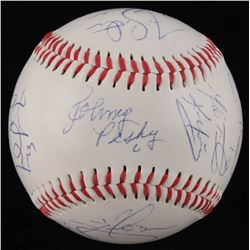 2007 Boston Red Sox World Series Champions OL Baseball Signed by (13) With Theo Epstein, Johnny Pesk