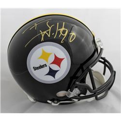 T.J. Watt Signed Pittsburgh Steelers Full-Size Authentic On-Field Helmet (JSA COA)