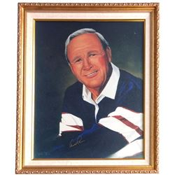 Arnold Palmer Signed 20x24 Custom Framed Photo Display (Beckett LOA)