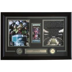 Jason Kelce Philadelphia Eagles 18x28 Custom Framed Replica Ticket Display