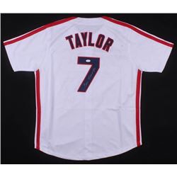 "Tom Berenger Signed ""Major League"" Cleveland Indians Jersey (JSA COA)"