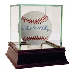 Eddie Mathews Signed ONL Baseball (JSA Hologram)