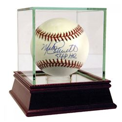 "Mike Schmidt Signed ONL Baseball Inscribed ""548 HR"" (JSA Hologram)"